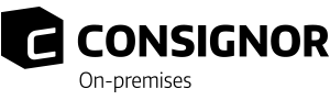Logo consignor on-premises